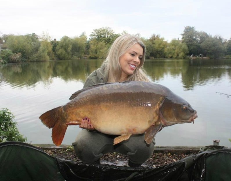 Samantha Donn, 27lb 5oz, Monster Tiger Nut Wafter, Woodys Lake