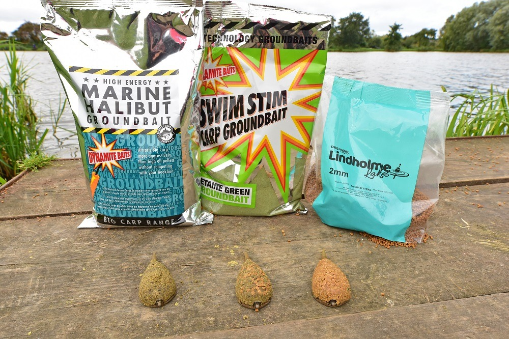 All have their place - ground, groundbaitpellet combo and pure pellet 2